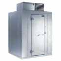"""Polar-Pak Self-Contained Walk-In Cooler, 5 ft. 10""""x9 ft. 8"""" Actual Size, With Floor"""