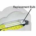 Replacement Bulb For Auto-Cartridge Wall Sconce Unit
