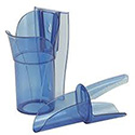 Saf-T Scoop Ice Scoop System - 20 to 24 oz.