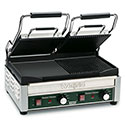 Panini Grill - Dual Top Cast Iron One Smooth and One Ribbed Plate