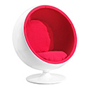 Zuo Modern 800002 MIB Occasional Chair, Red