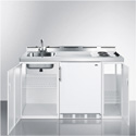 Summit Appliance C60EL All-In-One Combination Kitchen