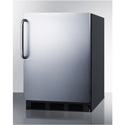 Summit Appliance FF63BBISSTBADA Built-In Under Counter All-Refrigerator For ADA Height Counters