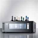 Summit Appliance STC1 8-Bottle Thermoelectric Wine Chiller For Countertop Use