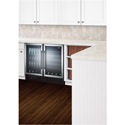 """Summit Appliance SWC1840ADA 18"""" Wide Built-In Wine Cellar For ADA Height Counters"""