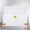 Summit Appliance VLT2250IB Laboratory Chest Freezer Capable Of -35 C (-31 F)Operation With Dual Blue Ice Banks