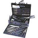 Professional Cutlery Set - 32 Piece, Stamped Knives