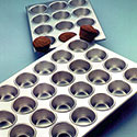 Cupcake and Muffin Pan - Heavy Duty 12 Cups