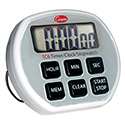 Digital Kitchen Timer 24 Hour, with Clock and Stopwatch