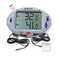 Dual-Cool Dual Panel Digital Thermometer - One Air Probe And One Solid Simulator Probe
