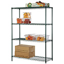"Shelving Package for 7 Feet 9""x9 Feet 8"" Kolpak Walk-in With Centered 26""W or 34"" Door"