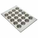 Large Crown Muffin Pan - (12) 7-5/16 oz. Cup Capacity
