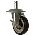 "Heavy Duty Wire Shelving - 5"" Swivel Casters"