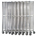 "Focus FAZNBR20 Ultra Heavy Duty Nesting Bakers Rack - 3"" Slide Spacing, 20 Pan Capacity"