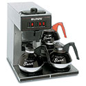 Commercial Coffee Brewer Pour Over, 3 Warmers