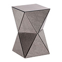 Zuo Modern 850100 Prism Side Table, Antique