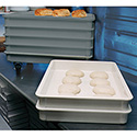 Stacking Food Storage Box, 4-1/2 Gallon Capacity