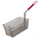 "Allied Buying Corp WFB-RD Fry Basket - Coated-Handle 6-1/2""Wx12-7/8""Dx5-3/8""H"