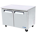 Undercounter Freezer - Standard 2 Doors, 12 Cu. Ft., 1/2 HP