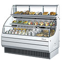 """Top Display Dry Case for 50-3/4""""W Short Height Turbo Air Open Air Cases - 13-1/4""""H"""