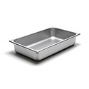 22 Gauge Stainless Steel Steam Table Pan, Full-Size, 14 Quart