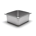 22 Gauge Stainless Steel Steam Table Pan, Half-Size, 10 Quart