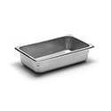 22 Gauge Stainless Steel Steam Table Pan, Fourth-Size, 1-13/16 Quart