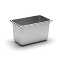 22 Gauge Stainless Steel Steam Table Pan, Fourth-Size, 4-1/2 Quart