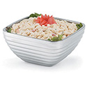 Insulated Serving Bowl - Level Design, Beehive Texture, Square - 1-13/16 Qt. Capacity