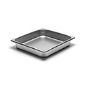 300 Series 22 Gauge Steam Table Pan, Two-Thirds Size, 6-1/2 Qt.