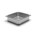 300 Series 22 Gauge Steam Table Pan, Two-Thirds Size, 9-1/2 Qt.