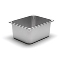 300 Series 22 Gauge Steam Table Pan, Two-Thirds Size, 14-1/2 Qt.