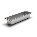 300 Series 22 Gauge Steam Table Pan, Half-Size Long, 7 Qt.