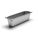 300 Series 22 Gauge Steam Table Pan, Half-Size Long, 11 Qt.