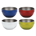 Colored Insulated Serving Bowl, Round, 6-7/8 Qt.