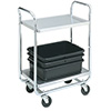 "Vollrath 97161 Economy Cart - 2 Shelves, 500 lb. Capacity, 40-1/2""W"