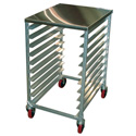 Food Prep Cart Stainless Steel Top