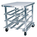 "Kitchen Can Rack - Heavy Duty 40""H"