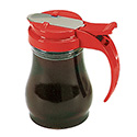 Dripcut Syrup Dispensers - 7 oz., Color Plastic Top