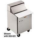 Front Breathing Sandwich/Salad Table - One Door, Holds (9) Sixth-Size Pans