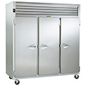 Traulsen G31013 Three Door Reach-In Storage Freezer, Full Height Solid Doors