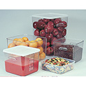 Space Saving Square Containers - 2 Quart