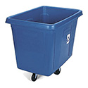 Rubbermaid FG461673BLUE Recycling Cube Truck