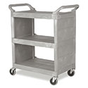 Kitchen Utility Cart Plastic, Heavy Duty