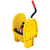 Rubbermaid FG757588 WaveBrake Down-Press Wringer, Yellow or Brown