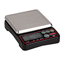 "Compact Size Digital Portion Control Scale - 10 lbs. x 0.10 oz. Capacity, 3-3/5""Wx7-1/4""D"