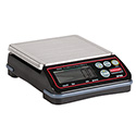 """Full Size Digital Portion Control Scale - 12 lbs. x 0.10 Capacity, 4""""Wx8-3/5""""D"""