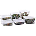 12 Piece Space Saving Square Container Set