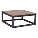 Zuo Modern 98122 Civic Center Square Coffee Table, Distressed Natural