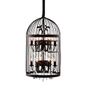 Zuo Modern 98240 Canary Ceiling Lamp, Black